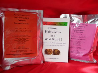 Natural Hair Dye Kit Contents, Renaissance Henna