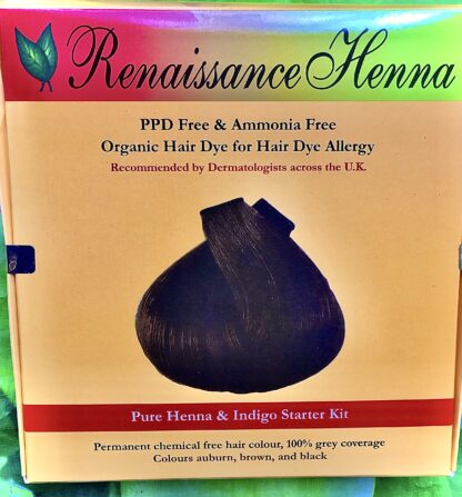 Hair Dye Alternatives that Actually Work Herbal Hair Colour Kit by Renaissance Henna (4)