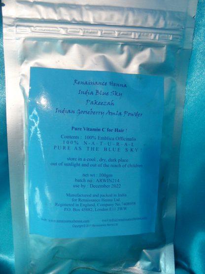 Natural hair care amla powder