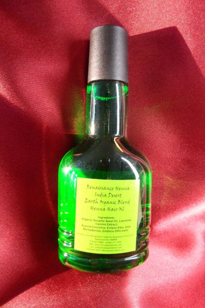 ayurvedic hair oil organic herbs