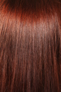natural brown hair background