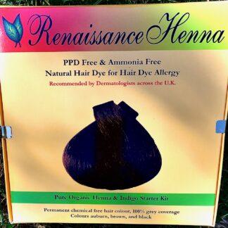 alternative hair dye organic hair colour kit Renaissance Henna