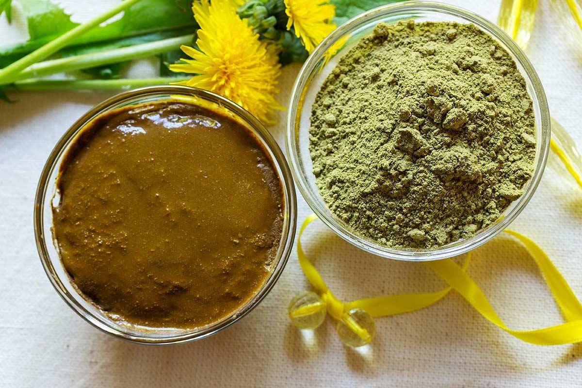 henna plant natural hair dye