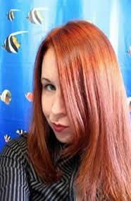 Carly 2 My hair dyed hair