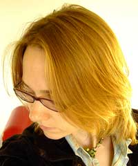 Elaine 1 MY HAIR BEFORE HENNA