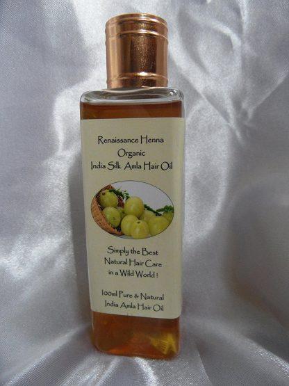 Organic Amla Hair Oil for Silky Hair