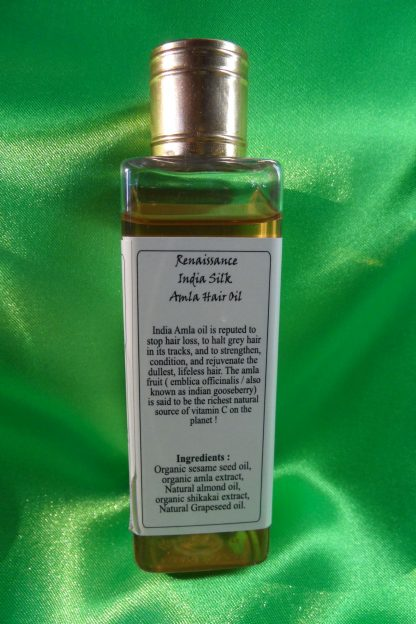 organic cold pressed amla oil for natural hair care