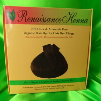 Organic Herbal Hair Colour Kit for Long Hair , Renaissance Henna