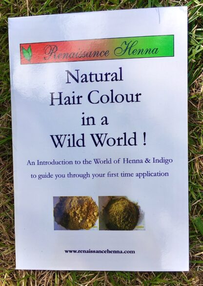 Organic Natural Hair Colour How to Henna Kit Booklet Renaissance Henna