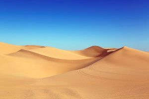 Pure Henna & Pure Indigo, desert earth & blue sky