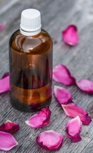 Mix organic rose powder with rose water for a natural face scrub or add to henna for a light floral fragrance