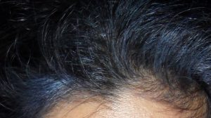 Blue Violet Indigoed hairline